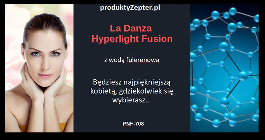 La Danza HYPERLIGHT FUSION podstawowy kompleks anti-age krem z fulerenem, innowacyjny, wyjątkowy i wspaniały krem do twarzy na dzień i na noc.