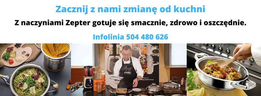 Bezpłatne warsztaty gotowania w naczyniach Zepter